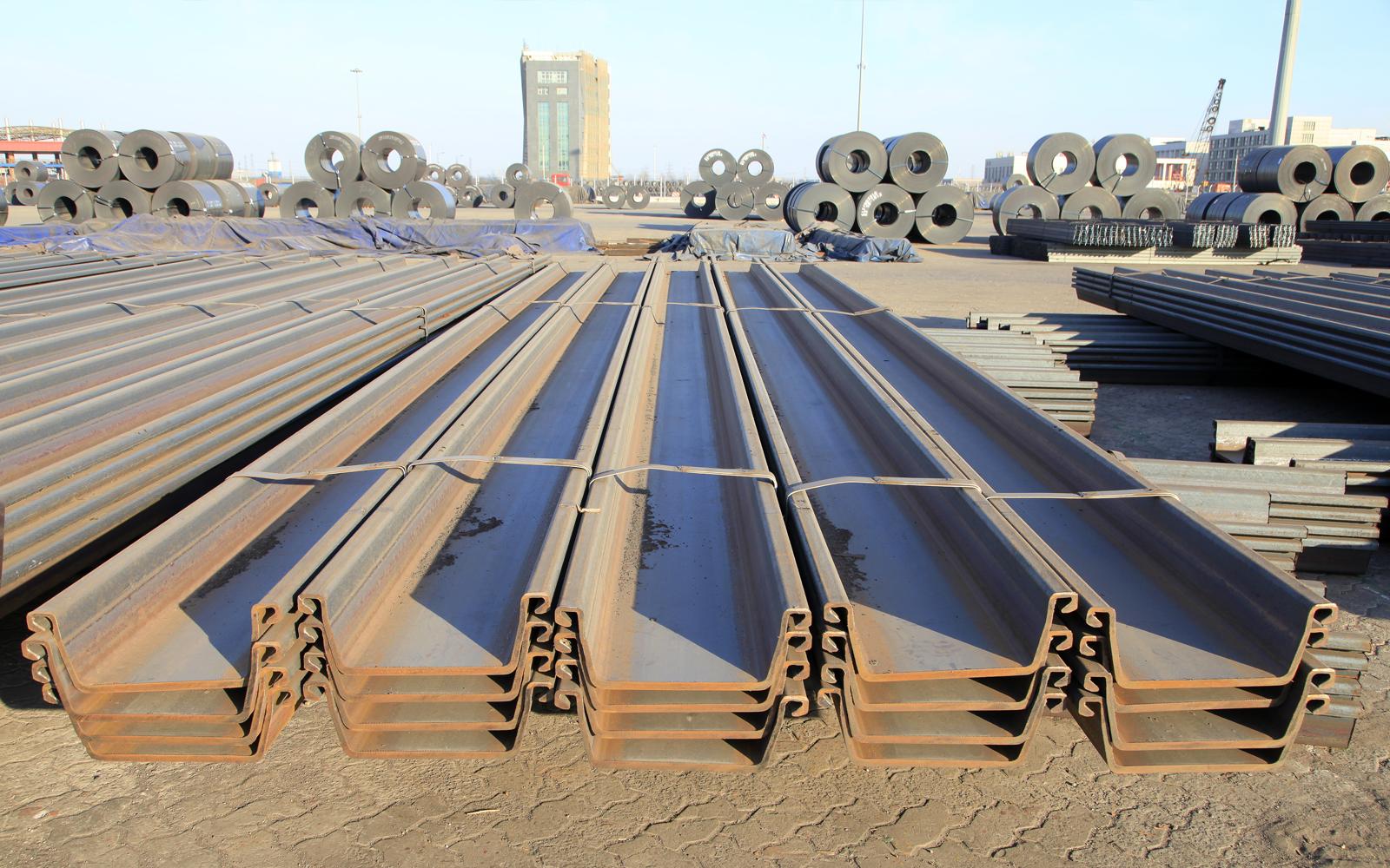 Steel piling